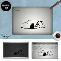 联想G360 G460电脑贴纸G450 G460A G470笔记本保护膜14寸外壳贴膜 SC-264 三面+键盘贴