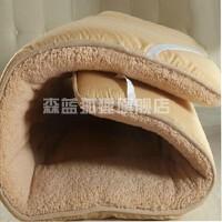 加绒冬天床垫 加厚保暖羊绒经济型1.35m加厚床上家用寝室褥垫绒毛