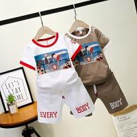 男童夏装新款套装夏季童装儿童短袖清新小男孩宝宝潮衣