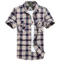 NIAN JEEP短袖衬衫吉普盾男士夏季新款宽松大码短袖衬衣6821