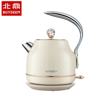 Buydeem/北鼎 K208 进口不锈钢智能电热水壶双层防烫烧水壶礼盒装