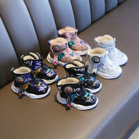 20191124134404517宝宝棉鞋雪地靴男宝宝鞋子学步鞋冬款1-3-5岁女童加绒加