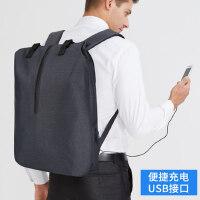 户外运动背包男士旅行包韩版双肩包时尚潮流青年简约休闲大学生电脑书包男