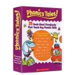 Scholastic Phonics Tales 学乐幼儿英语自然拼读绘本故事书25册 此定制款没有老师手册