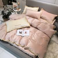 欧式冬季珊瑚绒四件套双面短毛绒法兰绒牛奶绒网红被套床上用品