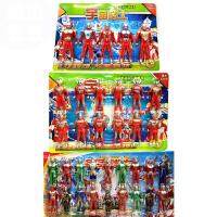 20180524094411516奥特曼玩具套装 欧布 泰罗雷欧赛罗迪迦人偶儿童怪兽超人模型套装