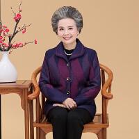 中老年女装外套奶奶老年人秋装女60-70岁春秋老人衣服女