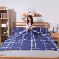 旅行用品户外便携旅游床单轻薄室内酒店宾馆装备隔脏睡袋棉双人