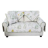 20191209192639209韩式清新田园风沙发垫老式皮沙发坐垫甜美小清新碎花布艺四季通用