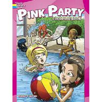 【�A�】Pink Party Coloring Book