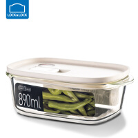 �房�房勰�岵AПur盒�L方形�盒冰箱水果���w收�{盒保�r��饪� 890ml【白色】 LLG941WHT