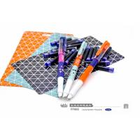 小白点文具 可擦换囊钢笔套装FP608 2支直液式彩色钢笔+16支蓝色墨囊/创意学生学习办公用品儿童练字写作业考试蓝色