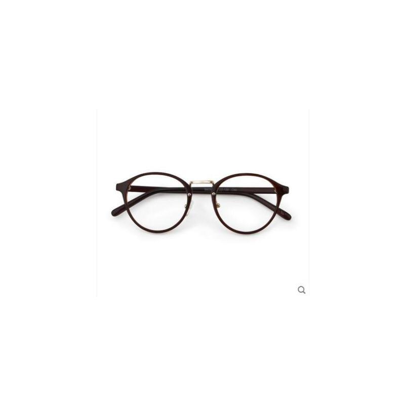 圆框轻盈眼镜TR90近视眼镜架男平光可配防辐射镜复古韩版大脸眼镜框女潮 品质保证,支持货到付款 ,售后无忧