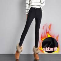 加绒小脚裤女冬季棉裤加绒加厚打底裤女装弹力魔术裤长裤新款