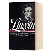 林肯 演讲与写作卷一 英文原版 Lincoln Speeches and Writings 1832-1858 美国文