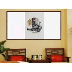 北京美协授权专卖006《门墩儿》家居装饰*纯手绘国画 68*42cm