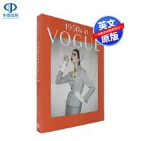 英文原版 1950s in Vogue 50年代的Vogue杂志艺术书 时尚服装摄影插图探索 标志性时尚图片收录 杰西卡