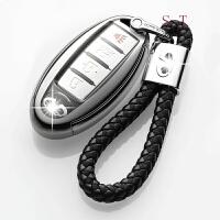 专用于英菲尼迪钥匙包Q50L QX50 60 QX70L 80 ESQ汽车钥匙套壳扣