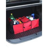 车用折叠袋车内零食整理盒收纳箱车载用品汽车后备箱储物箱