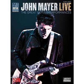 【预订】John Mayer Live: The Great Guitar Performances 预订商品,需要1-3个月发货,非质量问题不接受退换货。