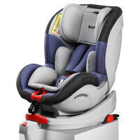 Aoruidi德国新生婴儿安全座椅0-4岁儿童可坐躺双向安装isofix接口 战神