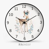 【支持礼品卡】挂钟客厅个性创意时尚挂表现代简约家用潮流大气时钟北欧静音钟表4td