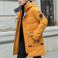 №【2019新款】冬天年轻人穿的外套男中长款宽松加厚冬至2018新款学生服潮流冬装