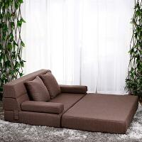 小户型懒人沙发床榻榻米双人可拆洗午休躺椅折叠卧室客厅小沙发