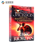 Percy Jackson and the Battle of the Labyrinth 英文原版 畅销青少年小说