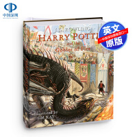 哈利波特与火焰杯 英文原版 精装全彩插图版 Harry Potter and the Goblet of Fire: