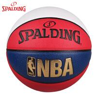 斯伯丁Spalding篮球室内外通用PU材质7号比赛用球74-655Y