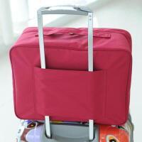 旅行收纳袋衣服整理袋防水手提包男女户外旅游行李箱衣物收纳包s6 大号衣物包―酒色