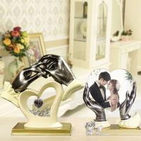 创意树脂婚庆摆件家居婚房装饰品摆设订婚周年纪念日结婚礼物