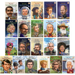英文原版绘本who was Alva Edison/Bill Gates 学术企业家19本小说 美国中小学生课外阅读英