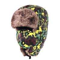 户外登山防寒雷锋帽  男女厚保暖东北帽子  冬季骑车护耳罩防风帽子