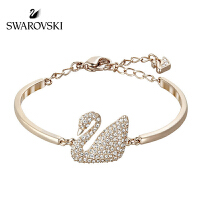 SWAROVSKI/施华洛世奇 SWAN玫瑰金天鹅手镯 5142752