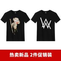 短袖T恤男潮流潮牌半袖中国风男士衣服大码运动夏季体恤衫 6X