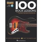 【预订】Bass Lesson Goldmine: 100 Rock Lessons (Book/Online Aud