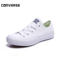 converse/匡威童鞋2018年新款男女童帆布鞋中童休闲小白鞋(10-15岁可选) 250154C