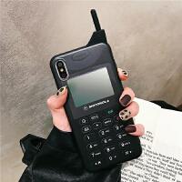 复古大哥大造型手机8plus苹果x手机壳XS Max/XR/iPhoneX/7p/6女iphone6 I6/6s im