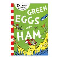 英文原版 Green Eggs and Ham 新鲜的鸡蛋和火腿 [4-8岁]