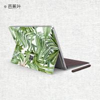 微软Surface 贴膜 平板笔记本电脑创意保护膜 Surface Go个性彩色贴纸可