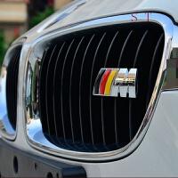 宝马改装中网金属车贴前脸3D立体M贴标装饰车身配件