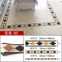 客厅地面装饰线条地板装饰贴纸仿大理石自粘防水耐磨瓷砖装饰贴纸