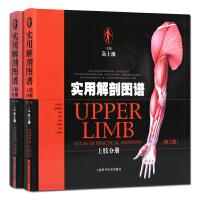 实用解剖图谱上肢分册 下肢分册 2册套装人体解剖学图谱 高士濂主编 上海科学技术出版社出版 正版