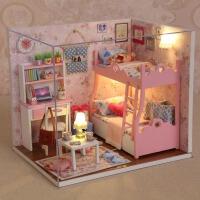 小女孩过家家 5-6-8-9-10岁生日礼物 公主手工娃娃屋女童儿童玩具