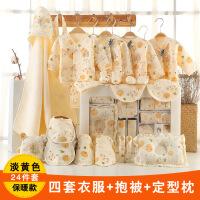 №【2019新款】冬天用的婴儿衣服纯棉新生儿礼盒套装0-3个月6春秋刚出生初生宝宝用品