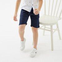 【1件2.5折到手价:48.8】米喜迪mecity童装2019夏装新款男童分割棉麻梭织中裤
