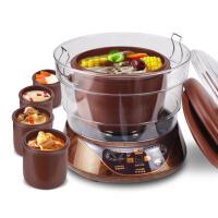 紫砂隔水电炖盅*煲汤煮粥炖饭五胆隔水电炖锅
