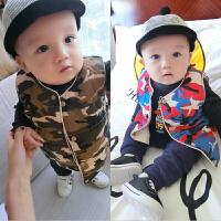婴儿衣服1岁6个月男宝宝背心新生儿冬季马甲女童马夹春秋装外套冬